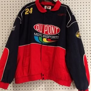 Vintage Jeff Gordon Jacket Coat 24 Size 2X DuPont